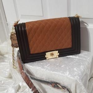 Alyssa Tan Crossbody Bag
